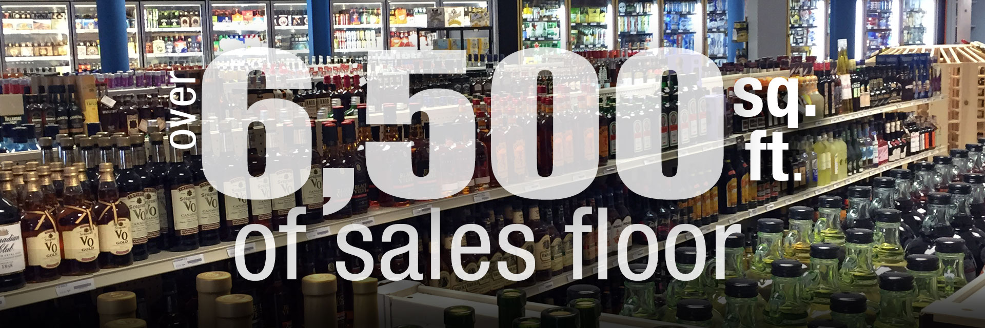 Over 6,500 Square Feet Of Sales Floor